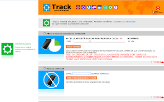 Screenshot of Track - Rastreamento Celular