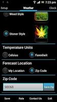 Screenshot of Weed Widget Pack Pro