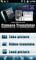 Screenshot of ScanDic Camera Translator
