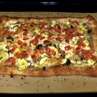 Perfect Veggie Pizza