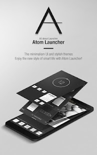 Free Download Atom Launcher APK for Samsung