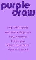Screenshot of Purple Draw Free