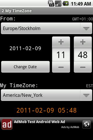 2 My TimeZone