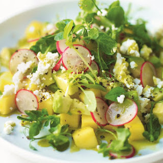 Mango, Feta & Avocado Salad with Fresh Lime Juice