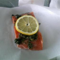Citrus Salmon in Parchment