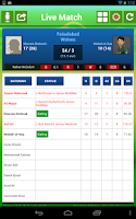 Screenshot of Cricket live score App