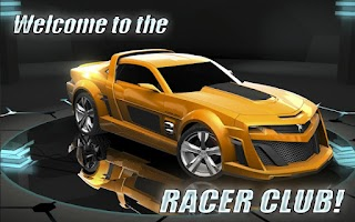Screenshot of XRacer: The traffic
