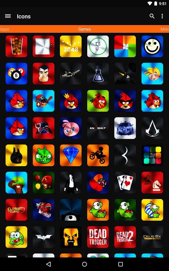 Vivid Icon Pack Screenshot 8