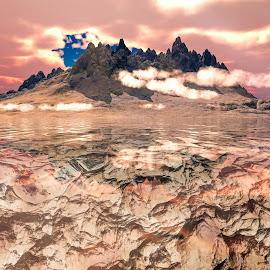 Bad Feeling by Joseph Belcher - Illustration Places ( 3d, landscape )