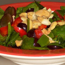 Asian Spinach SaladMany Ways