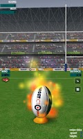 Screenshot of Real Rugby Flick