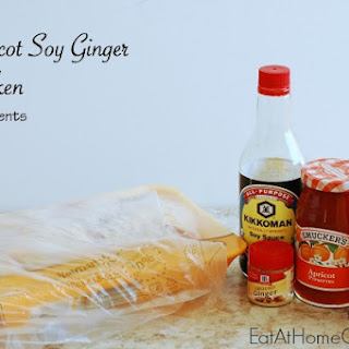 Apricot Soy Ginger Chicken – in the oven or slow cooker