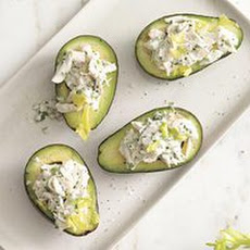 Herbed Crab Salad-Stuffed Avocados