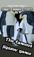 Screenshot of Animals jigsaw puzzle game