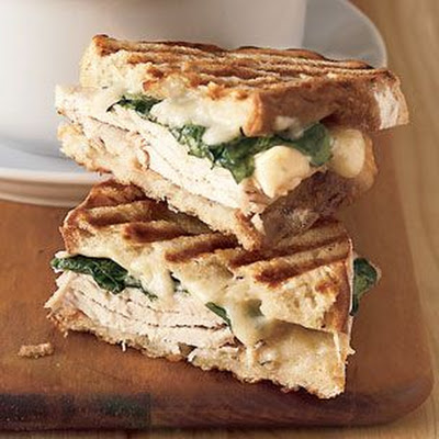Turkey and Arugula Panini with Gruyère