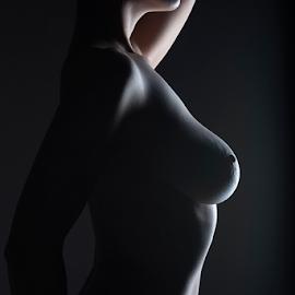 Nuda Torso by Jordan Morgans - Nudes & Boudoir Artistic Nude ( torso, nude, naked, nudes, nuda )