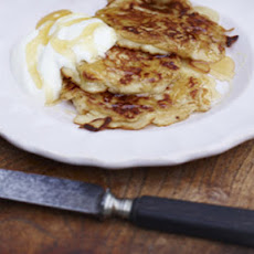 Breakfast Pear Pancakes