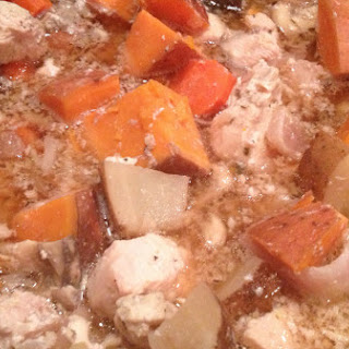 Healthy Slow Cooked CHICKEN Stew