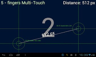 Screenshot of Multi-Touch test
