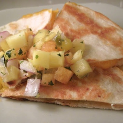 Butternut Squash & Avocado Quesadillas