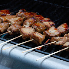 Filipino BBQ Pork Skewers