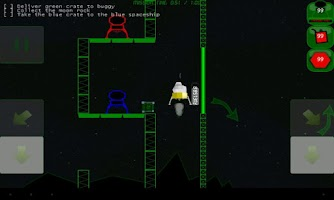 Screenshot of Lunar Commander Lite