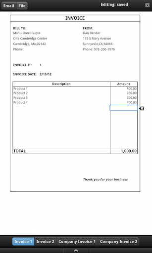 Sample Proforma Invoice - Tree Fruit Research & Extension Center