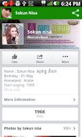 Screenshot of Khmer Star Sokun Nisa