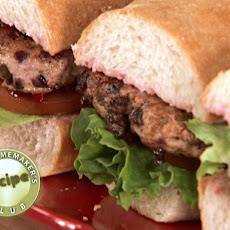 Chicken Cherry Baguette Burgers - Semi-Homemaker Recipe
