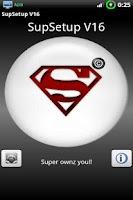 Screenshot of SupSetup V16