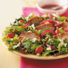 Warm Pork and Raspberry Salad Recipe