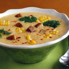 Corny Chicken Soup