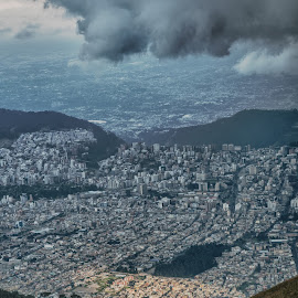Quito, Ecuador by Thierry Mallet - City,  Street & Park  Vistas