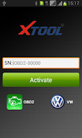 Screenshot of iOBD2-VW