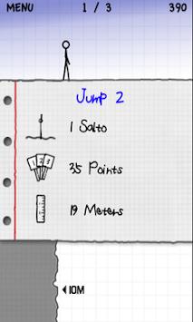 Stickman Cliff Diving apk screenshot