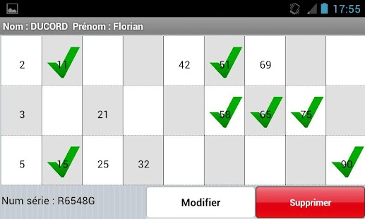 Loto Association - screenshot