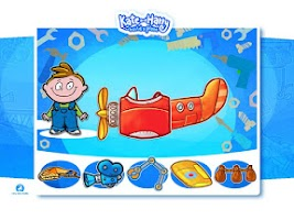 Screenshot of Build a Plane with Kate&Harry