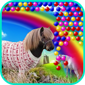 Bubble Little Pony Worlds APK Descargar
