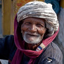 Freindly by Guy Gillade - People Portraits of Men ( rajastan, 2010, india, rajasta,  )