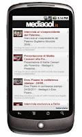 Screenshot of Mediagol Palermo News