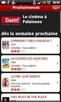 Screenshot of Cinépal