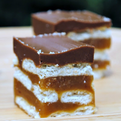 Caramel Cracker Bars