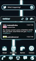 Screenshot of GOWidget Theme - Glow Legacy