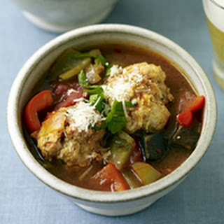 Cacciatore Stoup with Turkey Sausage Meatballs
