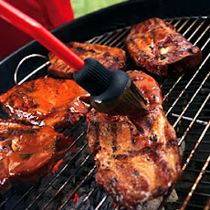 Smoky Grilled Pork Steaks with