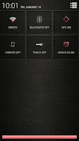 Screenshot of Leather Red CM11/AOKP Theme