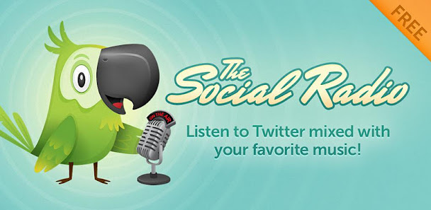Aplicación Android que nos permite escuchar los Tweets: The Social Radio 2