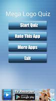 Screenshot of Mega Logo Quiz