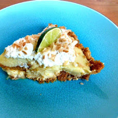 Key Lime Pie with Toasted Coconut