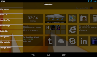 Screenshot of Home8:like Windows 8 launcher
